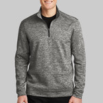 Adult Electric Heather 1/4 Zip Pullover