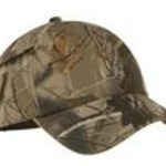 Adult Camo Washed Cap