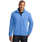 Adult Heather Microfleece Jacket