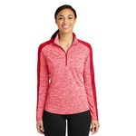 Ladies Heather 1/4 Zip Pullover