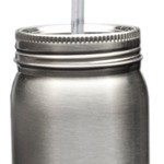 22oz Stainless Steel Mason Jars