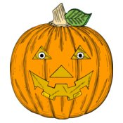johnny automatic pumpkin face
