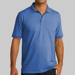 Adult Jersey Knit Polo