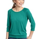 Ladies 3/4 Sleeve Raglan