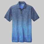 Adult Ombre Heather Polo