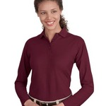 Ladies LS Polo