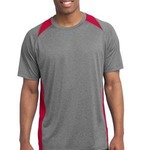 Copy of Adult Heather Colorblock T