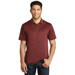 Adult Electric Heather Polo